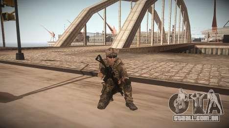 Animação de CoD MW3 para GTA San Andreas segunda tela