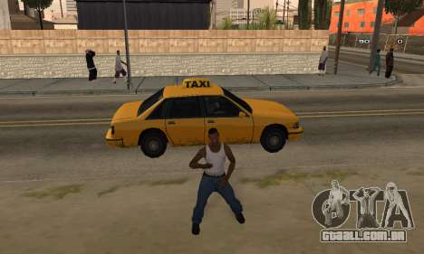 Dance para GTA San Andreas terceira tela