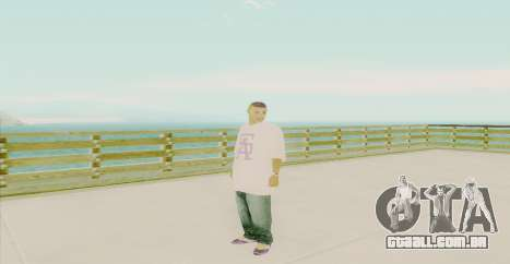 Ghetto Skin Pack para GTA San Andreas décimo tela