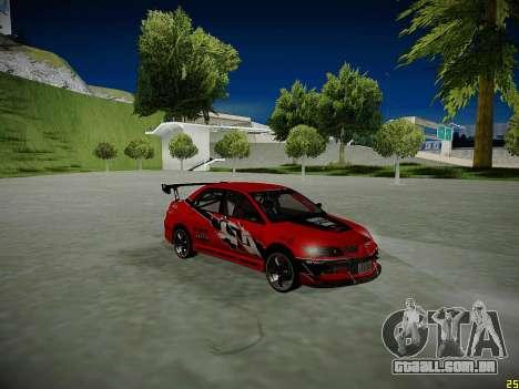 Mitsubishi Lancer Tokyo Drift para as rodas de GTA San Andreas