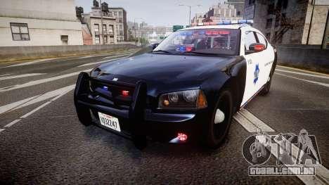 Dodge Charger 2010 LCPD K9 [ELS] para GTA 4