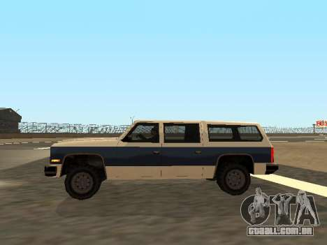 Rancher Four Door para vista lateral GTA San Andreas