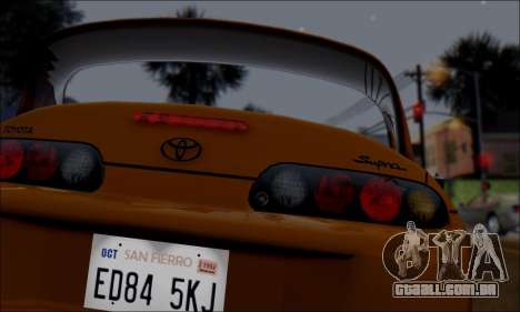 GTA 5 ENBSeries v3.0 Final para GTA San Andreas por diante tela