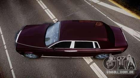 Rolls-Royce Phantom EWB v3.0 para GTA 4 vista direita