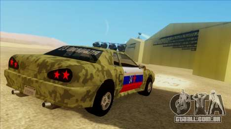 Elegy 23 February para GTA San Andreas vista superior