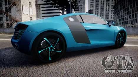 Audi R8 Tron Legacy [EPM] para GTA 4 esquerda vista