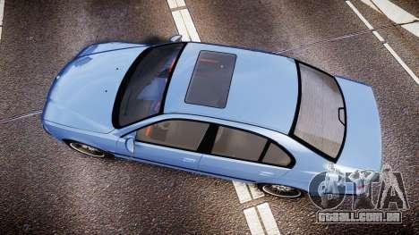 BMW M5 E39 stock para GTA 4 vista direita