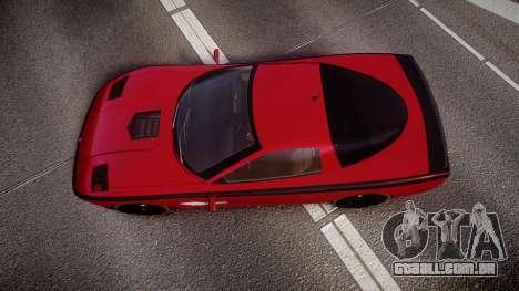 Invetero Coquette Spec-R1 para GTA 4 vista direita