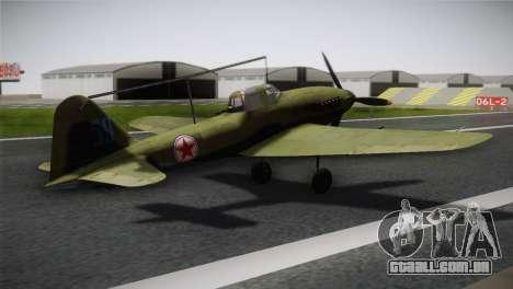 ИЛ-10 Korean Air Force para GTA San Andreas esquerda vista