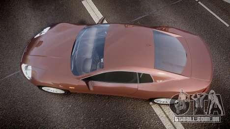 Dewbauchee XSL650R para GTA 4 vista direita
