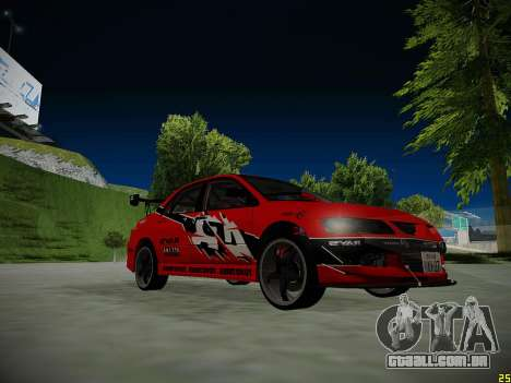 Mitsubishi Lancer Tokyo Drift para o motor de GTA San Andreas