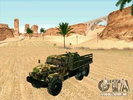 ZIL 131 Shaitan Arba para GTA San Andreas