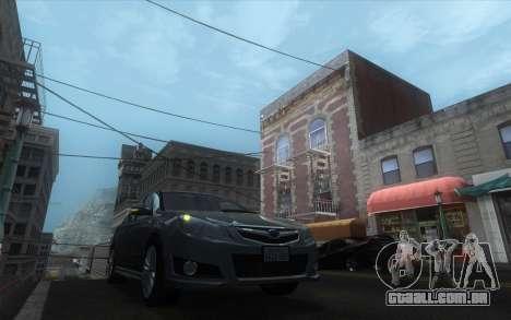 Classic Dark ENB para GTA San Andreas quinto tela