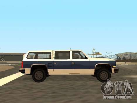 Rancher Four Door para GTA San Andreas vista superior