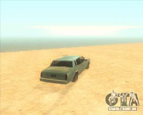 ENBSeries NEW Perfect Effects para GTA San Andreas segunda tela