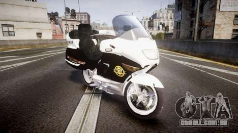 BMW K1200LT Police [ELS] para GTA 4