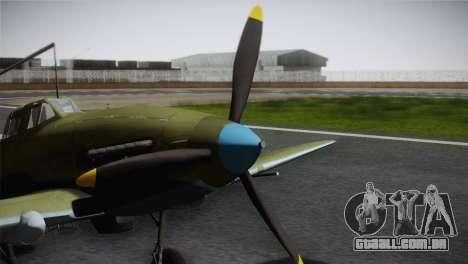 ИЛ-10 Korean Air Force para GTA San Andreas vista direita