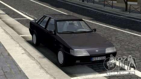 Daewoo Espero 1.5 GLX 1996 para GTA 4 vista de volta