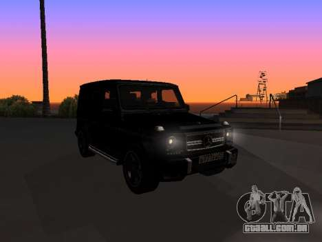 Mercedes-Benz G63 AMG para vista lateral GTA San Andreas
