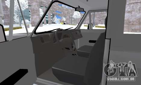Aro 242 para GTA San Andreas vista inferior