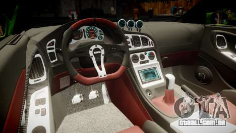 Mitsubishi Eclipse GSX 1995 Furious v3.0 para GTA 4 vista superior