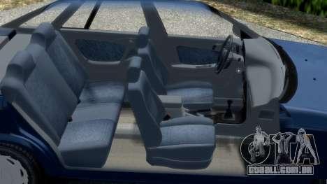 Daewoo Espero 1.5 GLX 1996 para GTA 4 vista lateral