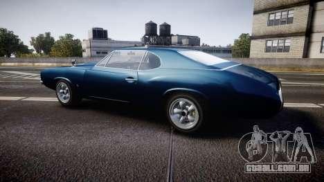 Classique Stallion Fastback para GTA 4 esquerda vista