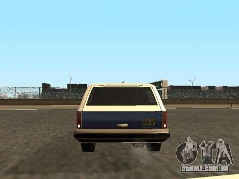 Rancher Four Door para o motor de GTA San Andreas