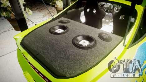 Mitsubishi Eclipse GSX 1995 Furious v3.0 para GTA 4 vista lateral