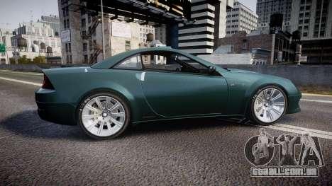 Benefactor Feltzer V8 Sport para GTA 4 esquerda vista