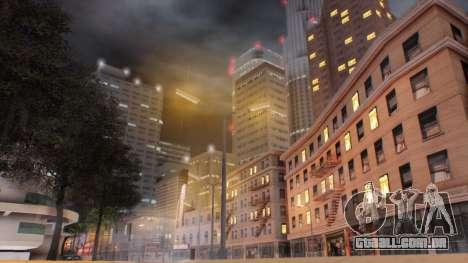 Miami Sunset ENB para GTA San Andreas segunda tela