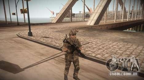 Animação de CoD MW3 para GTA San Andreas