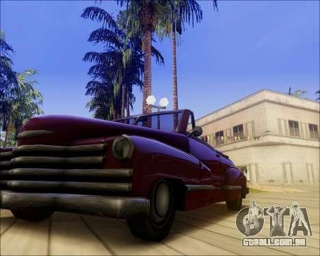 ENB by Nietto for SA:MP para GTA San Andreas por diante tela