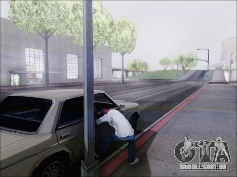 Máquina de corte para GTA San Andreas terceira tela