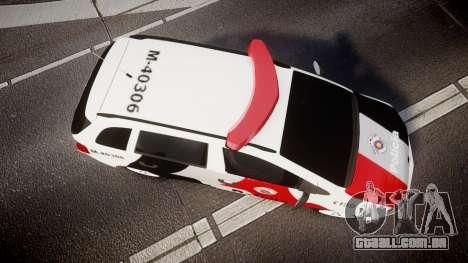 Volkswagen Suran PMESP [ELS] para GTA 4 vista direita