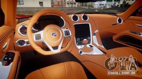 Dodge Viper SRT 2013 rims1 para GTA 4 vista de volta
