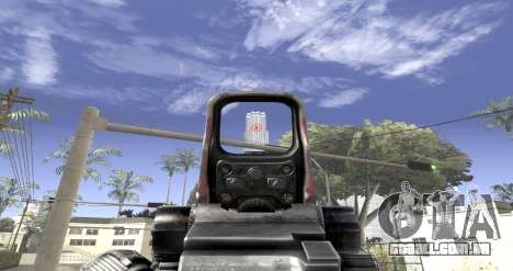 Sniper scope mod para GTA San Andreas terceira tela