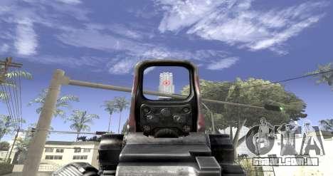 Sniper scope mod para GTA San Andreas terceira tela