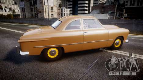 Ford Business 1949 v2.1 para GTA 4 esquerda vista