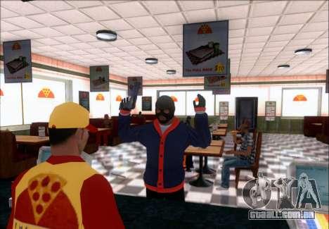 Franklin (o Ladrão) de GTA 5 para GTA San Andreas segunda tela