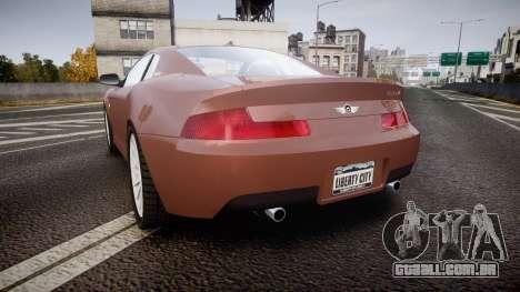 Dewbauchee XSL650R para GTA 4 traseira esquerda vista