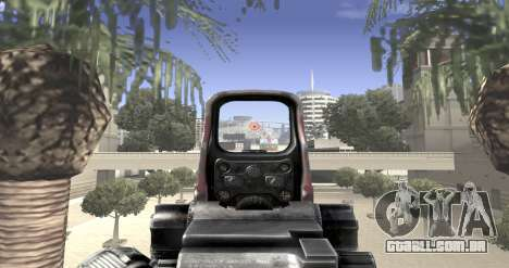 Sniper scope mod para GTA San Andreas por diante tela