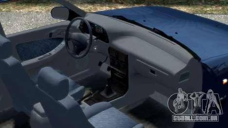 Daewoo Espero 1.5 GLX 1996 para GTA 4 vista interior