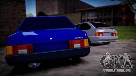 ENB por meio do PC para GTA San Andreas segunda tela