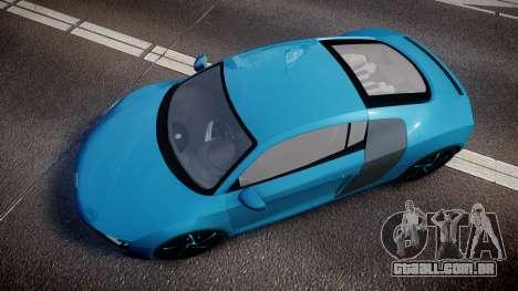 Audi R8 Tron Legacy [EPM] para GTA 4 vista direita