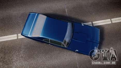 Classique Stallion Fastback para GTA 4 vista direita