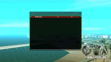 CGSA troca Automática SampGui para GTA San Andreas