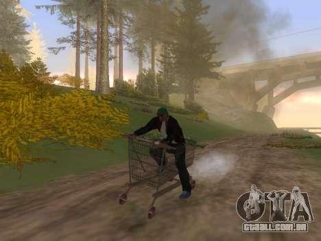 Shopping Cart para GTA San Andreas