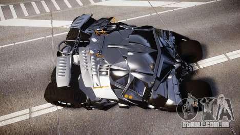 Batman tumbler [EPM] para GTA 4 vista direita