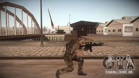 Animação de CoD MW3 para GTA San Andreas terceira tela
